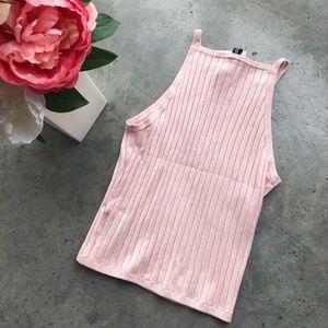 Pink tank top H&M